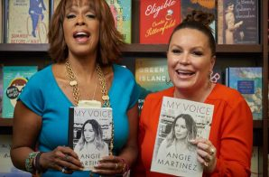 Angie Martinez Book Signing At Barnes & Noble (NYC)