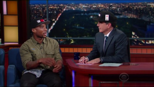 ctg-1-500x283 Stephen Colbert Interviews Charlemagne The God On The Late Show (Video)