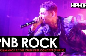 PNB Rock Performance at the Chief Keef Concert in Philly (5/8/16)