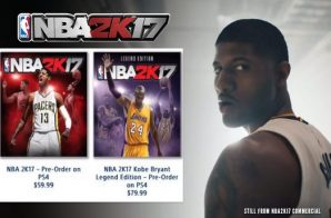 Indiana Pacers Star Paul George Will Cover NBA 2K17's Standard Edition