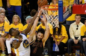 Ain't No Love: Cleveland Cavs Star Kevin Love WILL NOT Be Available For Game 3 of The 2016 NBA Finals