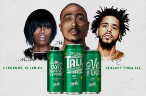 Sprite Launches 'Lyrical Collection' Campaign With Quotes From Rakim x 2Pac x Missy Elliott x J. Cole (Video)