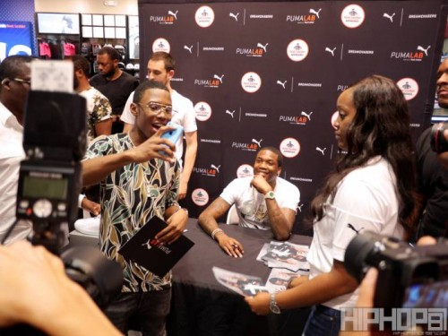 P1080590-500x375 Meek Mill Debuts New Sneakers & Signs Autographs At The Puma Lab In-Store Release Event