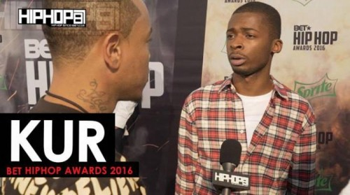 Kur-500x279 Kur Talks Signing With E-One, His Upcoming Project 'Shakur' The 2016 BET Cypher & More on the 2016 BET Green Carpet with HHS1987 (Video)
