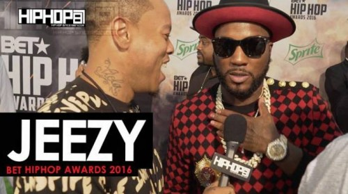 jeezy-500x279 Jeezy Talks His Upcoming Project 'Trap or Die 3', His Upcoming Record with Bankroll Fresh & More on the 2016 BET Hip Hop Awards Green Carpet with HHS1987 (Video)