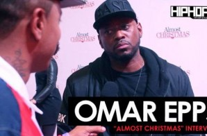 "Omar Epps Talks ""Almost Christmas"", His New USA Network Series ""Shooters"" & More at the ""Almost Christmas"" VIP Screening in Atlanta with HHS1987 (Video)"