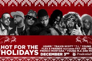 "Hot 97 Kept It ""Hot For The Holidays"" This Past Weekend w/ Usher, T.I., Fat Joe, Remy Ma & More!"
