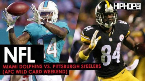 steelers-500x279 Miami Dolphins vs. Pittsburgh Steelers (AFC Wild Card Weekend) (Predictions)