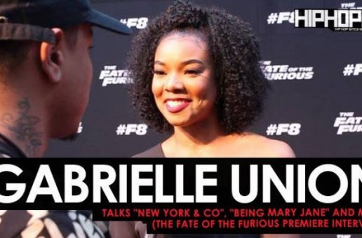 "Gabrielle Union Talks New York & Co, ""Being Mary Jane"" & More at The Fate of The Furious ""Welcome to Atlanta"" Private Screening (Video)"