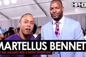 "Martellus Bennett Talks Super Bowl 51, Playing For The Green Bay Packers, His ""The Imagination Agency"" Production Co. & More on the 2017 BET Awards Red Carpet with HHS1987 (Video)"