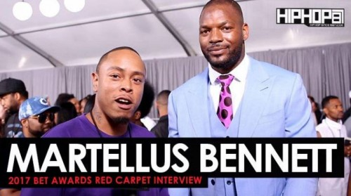 "Martellus-500x279 Martellus Bennett Talks Super Bowl 51, Playing For The Green Bay Packers, His ""The Imagination Agency"" Production Co. & More on the 2017 BET Awards Red Carpet with HHS1987 (Video)"