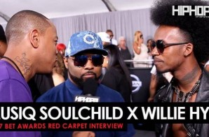 Musiq Soulchild & Wille Hyn Talk their Plans For 2017, Willie Hyn Upcoming Film & More on the 2017 BET Awards Red Carpet with HHS1987