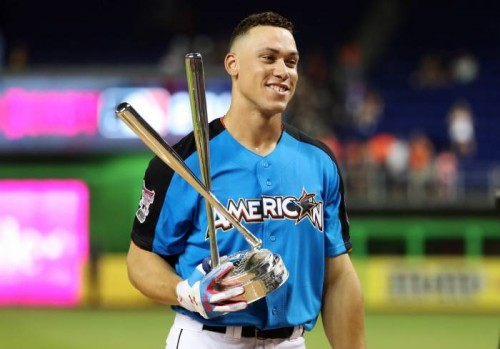 aaron-judge-500x349 New York Yankees Slugger Aaron Judge Is The 2017 Home Run Derby Champion (Video)