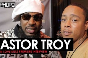 "Pastor Troy Talks His New Film & Production Career, Upcoming Music, Gives His Predictions on the Atlanta Falcons 2017 Season & More at the ""When Love Kills"" Premiere in Atlanta (Video)"
