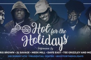 Hot 97's Annual Hot For The Holidays w/ Chris Brown, Meek Mill & More!