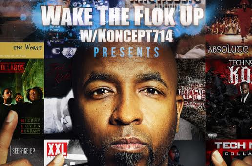 OC-Based Podcast, Wake the Flok Up Interviews Tech N9ne!