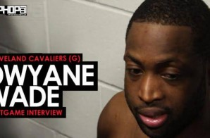 Dwyane Wade Talks Gelling with the Second Unit, LeBron Getting Better With Time & More (Video)