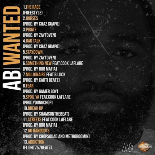 Wanted-Tracklist-500x500 Adrien Broner - Wanted (Mixtape)