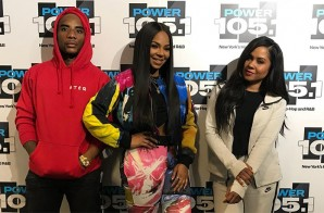 Ashanti On Sexual Harassment, Jay Z Collab, New Music & More w/ The Breakfast Club (Video)