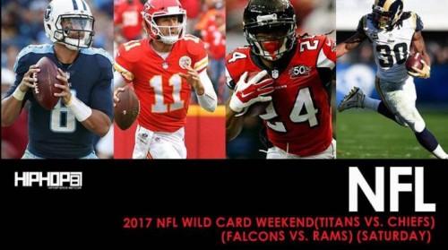 2017 NFL Wild Card Weekend (Titans vs. Chiefs) (Falcons vs. Rams) (Saturday) (Predictions)