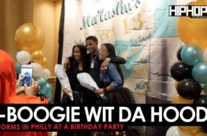 A-Boogie Wit Da Hoodie Performs at a birthday party in Philly (Unreleased Throwback Video)