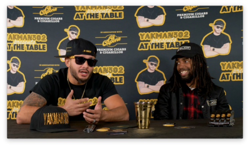 """Yakman302 """"At The Table"""" –  K.Walker Interview"""