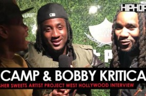 "K Camp & Bobby Kritical Talk Their Upcoming Projects, Swisher Sweets & Hip-Hop & More at the Swisher Sweets ""Spark Awards"" (Video)"