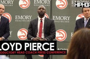 Atlanta Hawks HC Lloyd Pierce (Introductory Head Coach Press Conference) (Video)