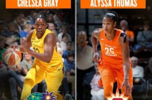 Connecticut Sun Star Alyssa Thomas & Los Angeles Sparks Star Chelsea Gray Named WNBA Players of the Week