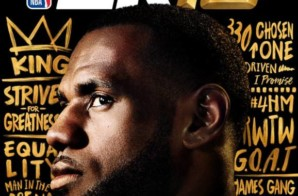 King of the Land: LeBron James Revealed as the Cover Athlete for the 20th Anniversary Edition of NBA2K19
