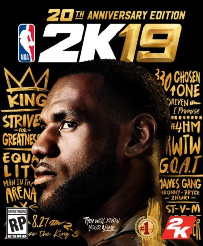 De7hNS-WsAY1C0S-413x500 King of the Land: LeBron James Revealed as the Cover Athlete for the 20th Anniversary Edition of NBA2K19
