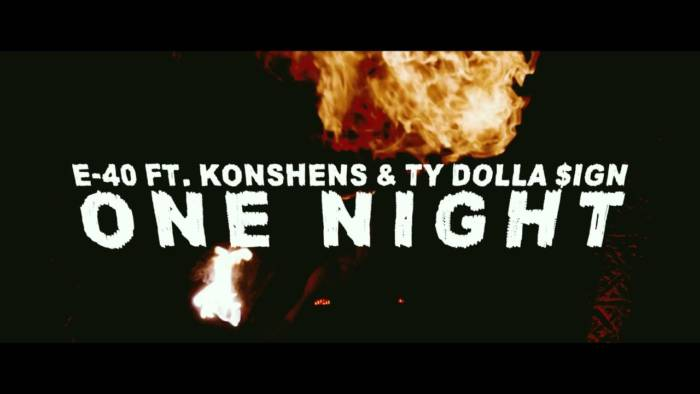 maxresdefault-9 E-40 - One Night Feat. Konshens & Ty Dolla $ign (Video)