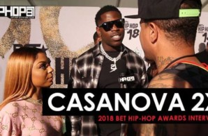 Casanova 2X Talks Upcoming New Music, Lil Wayne and More at the 2018 BET Hip-Hop Awards Sprite Green Carpet (Video)