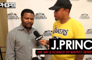 "J.Prince Talks ""The Art & Science of Respect"", the Evolution of Hip-Hop, Boxing & More (Video)"