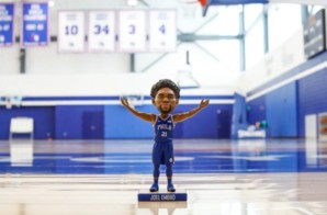 The Delaware Blue Coats Launch Joel Embiid Bobblehead Promotion For First Home Opener