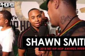 Shawn Smith Talks The BET Cypher, Lil Wayne, New Music & More at the 2018 BET Hip-Hop Awards Sprite Green Carpet (Video)