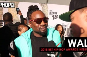 Wale Talks 'Free Lunch', New Music, the Washington Wizards & More at the 2018 BET Hip-Hop Awards Sprite Green Carpet (Video)