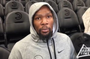 "Kevin Durant Talks Meek Mill's 'Championships"" Album, the Nike KD 11's, Trae Young & More (Video)"
