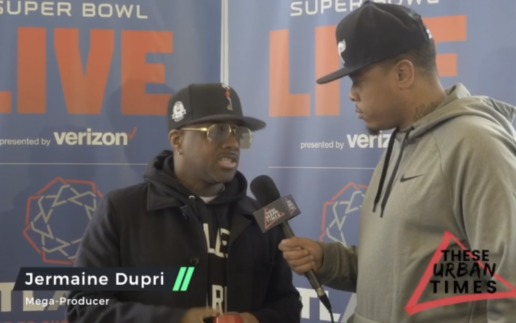 Jermaine Dupri Talks Super Bowl 53, the Dallas Cowboys, Amari Cooper, Atlanta United & More (Video)