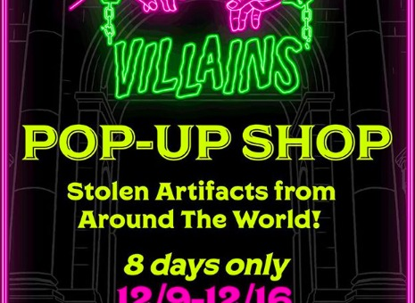 Sprayground's House of Villains Pop-Up in Times Square (Event Recap)