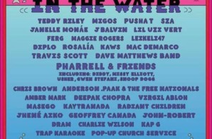 "Pharrell Adds Chris Brown, Diddy, Gwen Stefani, Usher & More To ""Something In The Water"" Festival Lineup!"
