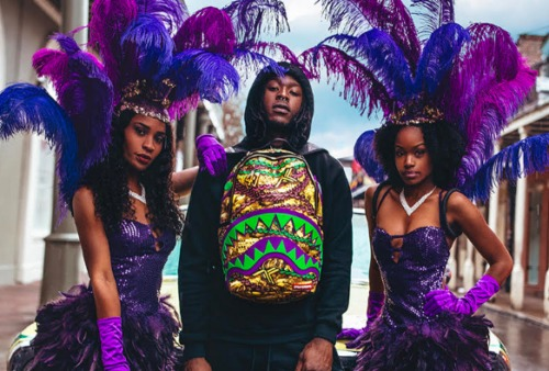 Screen-Shot-2019-03-02-at-10.49.51-PM-500x338 2019 Sprayground x Alvin Kamara Mardi Gras Bag Preview
