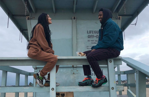 jhene-aiko-big-sean-beach-500x327 Jhene Aiko and Big Sean Reunite!