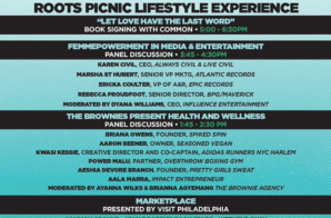 The Roots Picnic Announces Lifestyle Tent w/ Common, Health & Wellness Panels & More!