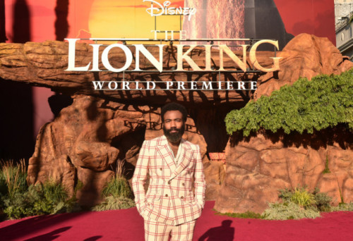 "DGloverLion-500x342 ""The Lion King"" Celebrates The World Premiere in Hollywood (Photos)"
