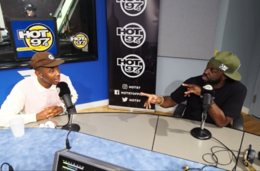 Tyler, The Creator – Funk Flex Interview + Freestyle (Video)
