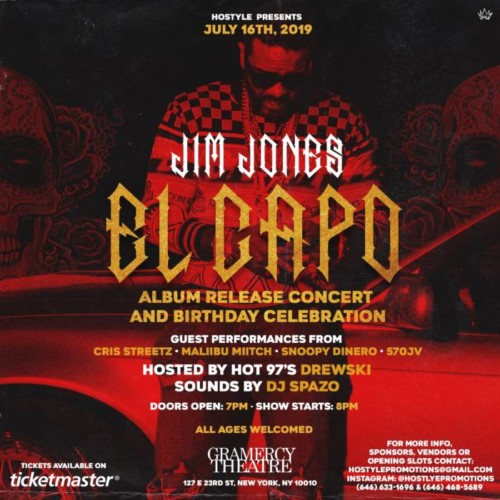 "image1-1-500x500 Jim Jones to Perform ""El Capo"" Live + Surprise Guests @ Gramercy Theatre (NYC)"