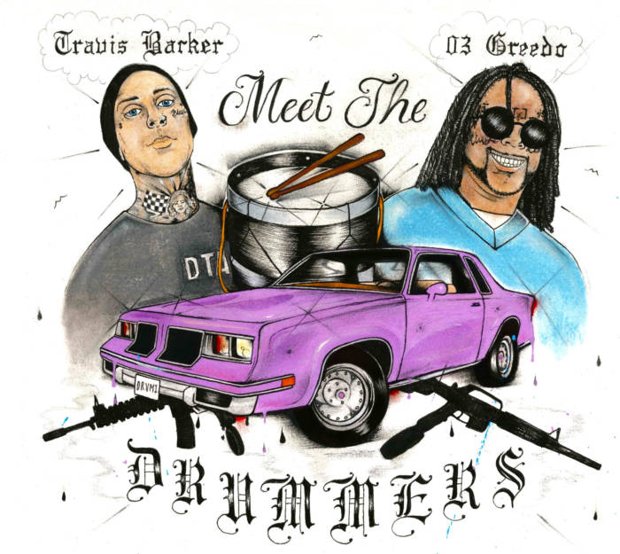"unnamed-1-2 03 Greedo and Travis Barker's joint project ""Meet The Drummers"""