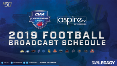 unnamed-2-500x281 CIAA & Aspire TV Announce Their Joint 2019 Football Broadcast Schedule
