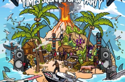 Escape to Shark Island – Sprayground Timesquare Popup Party!